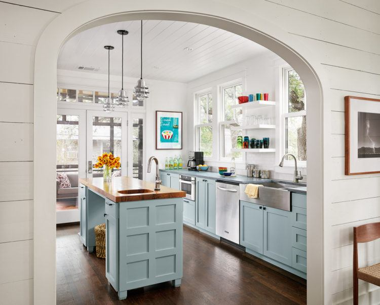 kitchen-prep-sink-Kitchen-Farmhouse-with-arched-doorway-floating-shelves-750x602